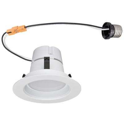 4 in. White LED Recessed Kit