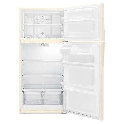 14.3 cu. ft. Top Freezer Refrigerator in Biscuit