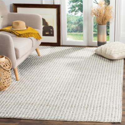 Natura Ivory/Silver 4 ft. x 6 ft. Area Rug
