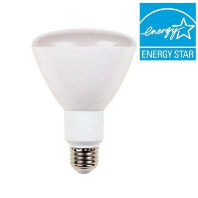65W Equivalent Soft White R30 Dimmable Flood LED Light Bulb