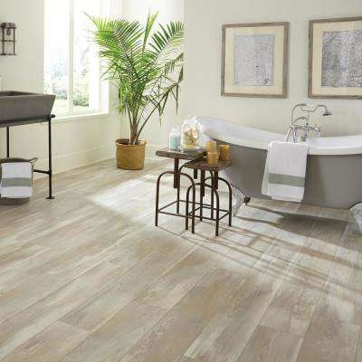 Lanwell Tan Oak 12 mm Thick x 7-5/8 in. Wide x 54-1/3 in. Length Laminate Flooring (14.18 sq. ft. / case)