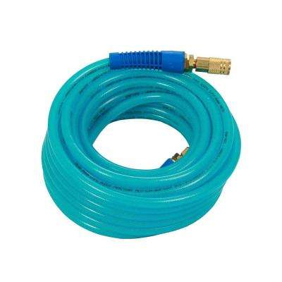 3/8 in. x 50 ft. Polyurethane Air Hose with Couplers