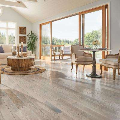 Revolutionary Rustics Oak Endless Summer 3/4 in. T x 5 in. W x Varying L Solid Hardwood Flooring (23.5 sq.ft./case)