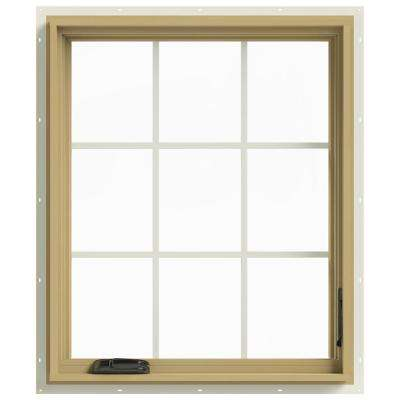 30 in. x 36 in. W-2500 Right Hand Casement Aluminum Clad Wood Window
