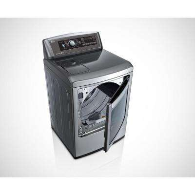 7.3 cu. ft. Electric Dryer with Steam in Graphite Steel, Energy Star