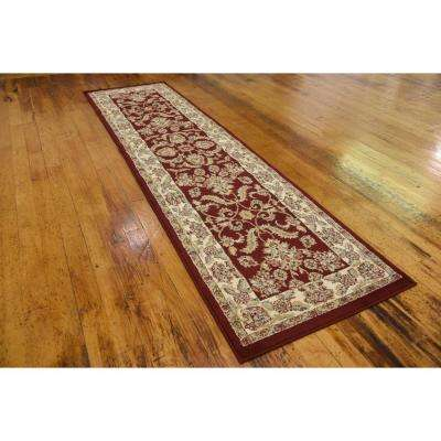 Voyage Reddington Red 2' 7 x 10' 0 Runner Rug