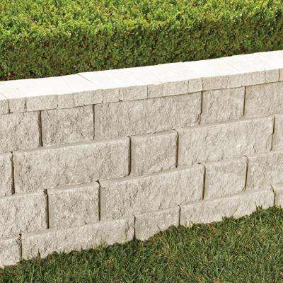 RockWall 7 in. L x 17.44 in. W x 6 in. H Large Limestone Retaining Wall Block (48 Pieces/34.9 sq. ft./Pallet)