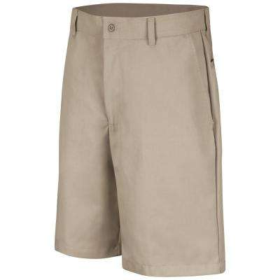 Men's Plain Front Short