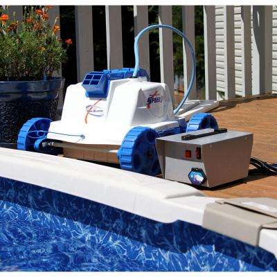 Speed Jet Robotic Pool Cleaner for Above Ground Pools