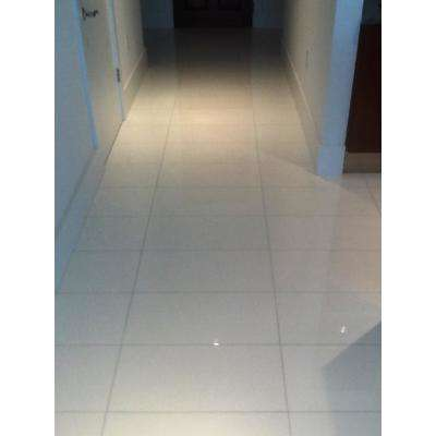 Super Thassos Glass 12 in. x 24 in. Polished Marble Floor and Wall Tile (10 sq. ft. / case)