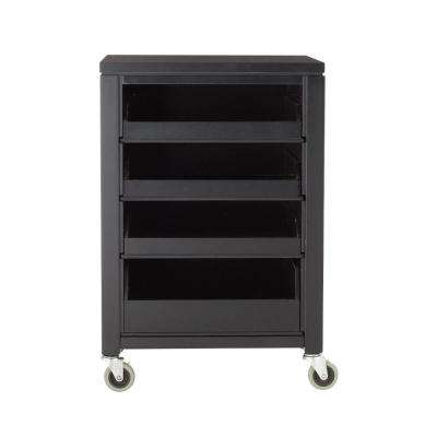 MSL 31 in. H Silhouette Cart with Pull Out Trays