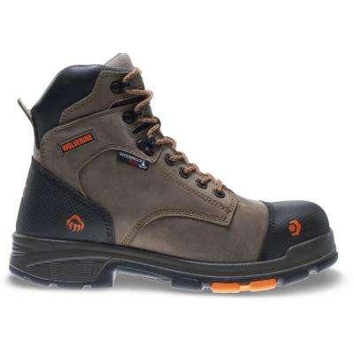 Men's Blade LX Brown Full-Grain Leather Waterproof Composite Toe Work Boot