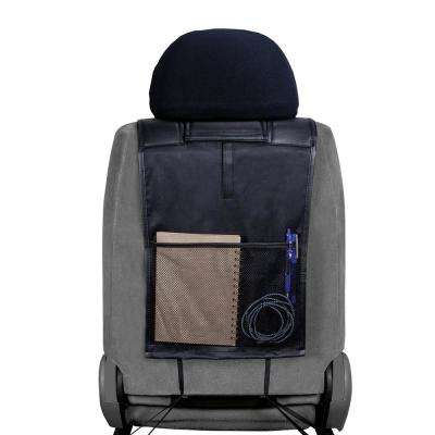 Ford 0.5 in. x 22 in. x 26 in. Design Heavy-Duty Sideless Seat Cover with Cargo Pocket (3-Piece)