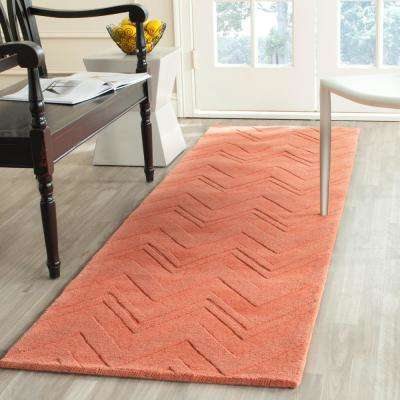 Impressions Peach 2 ft. 3 in. x 8 ft. Runner Rug