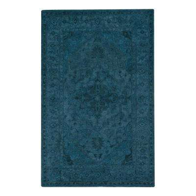Kingdom Blue 5 ft. 3 in. x 8 ft. 3 in. Area Rug