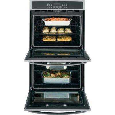 30 in. Double Electric Wall Oven with Convection (Upper Oven) Self-Cleaning in Stainless Steel