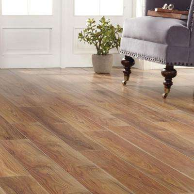 Charleston Hickory 8 mm Thick x 6-1/8 in. Wide x 47-5/8 in. Length Laminate Flooring (20.32 sq. ft. / case)