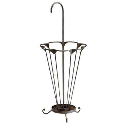 Prospect 36.5 in. x 14.5 in. Iron Umbrella Stand