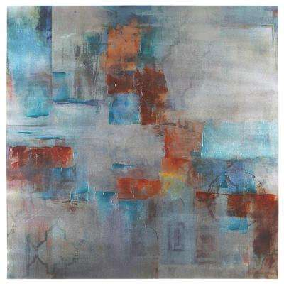 "40 in. x 40 in. ""Alluring Abstract II"" Printed Canvas Wall Art"