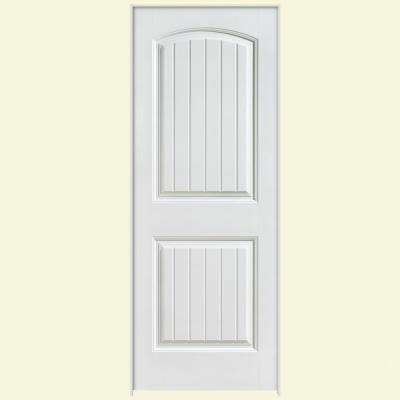 Solidoor Cheyenne Smooth 2 Panel Solid Core Composite Single Prehung Interior Door
