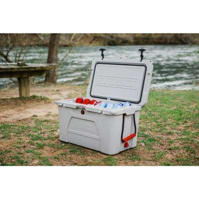 52 Qt. High-Performance Cooler with Lockable Lid - Holds 58 lbs. of Ice