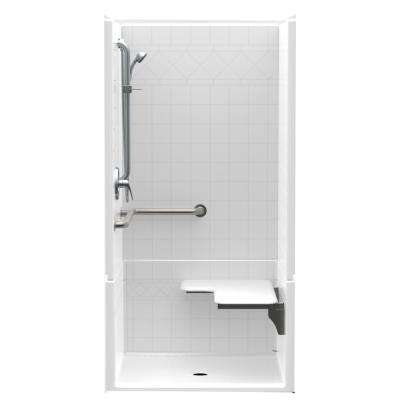ADA Compliant Barrier Free Shower Stalls Kits Showers The Home