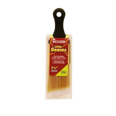 1-1/2 in. Angle Sash Synthetic Blend Little Genius Brush (25-Pack)