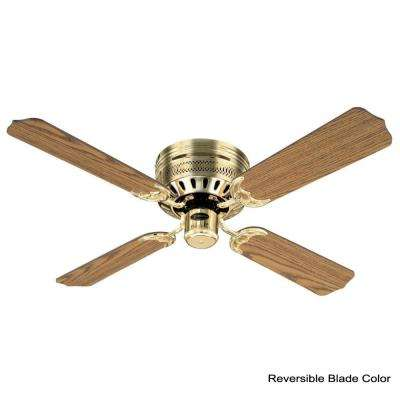 Casanova Supreme 42 in. Polished Brass Ceiling Fan