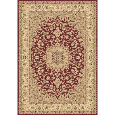 Legacy Red 6 ft. 7 in. x 9 ft. 6 in. Indoor Area Rug