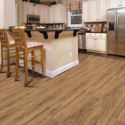 Textured Walnut Malawi 12 mm Thick x 5.59 in. Wide x 50.55 in. Length Laminate Flooring (15.70 sq. ft. / case)