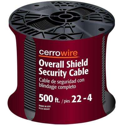 500 ft. 22/4 Grey Security Alarm Wire