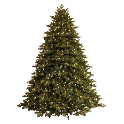 7.5 ft. Just Cut Norway Spruce EZ Light Artificial Christmas Tree with 800 Color Choice LED Lights