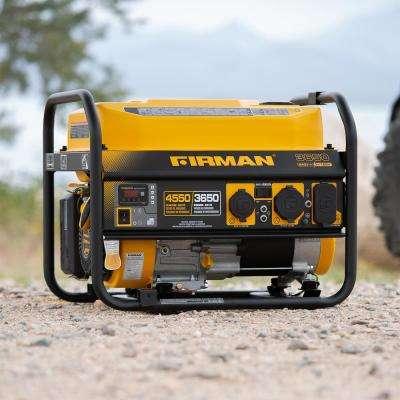4550/3650-Watt 120/240V Recoil Start Gas Portable Generator cETL Certified