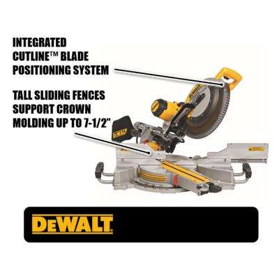 15 Amp Corded 12 in. Double Bevel Sliding Compound Miter Saw
