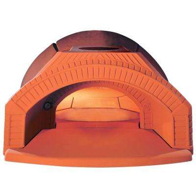 Personal 124 with Arch and Base - 12 Piece 47.25 in. Dia Outdoor Wood Burning Oven Refractory Built-In