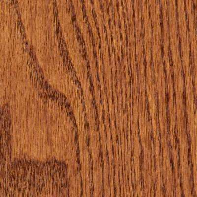 Wire Brushed Red Oak Gunstock 3/8 in. T x 5 in. Wide x Random Length Engineered Hardwood Flooring (25.50 sq. ft. / case)