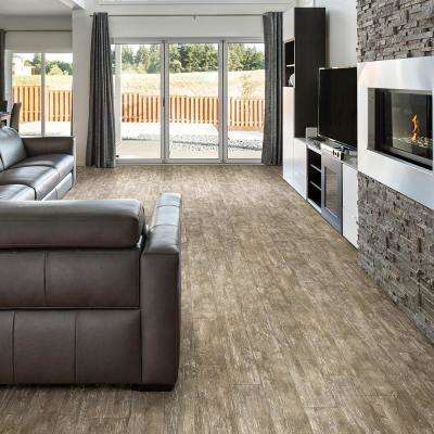 Stony Oak Java 8 in. Wide x 48 in. Length Click Floating luxury vinyl plank flooring (18.22 sq. ft./case)