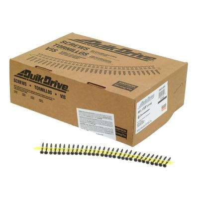#6 1-5/8 in. Gray Phosphate DWC Collated Screw (2,500 per Box)
