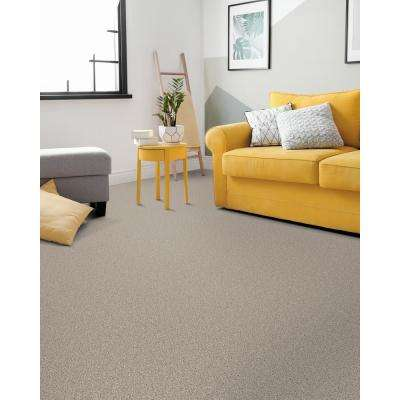 Groove - Color Gray Texture 12 ft. Carpet