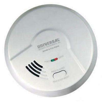 Battery Operated Smoke and Fire Alarm