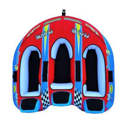 Tirade III 82 in. x 83 in. Inflatable Boat Towable