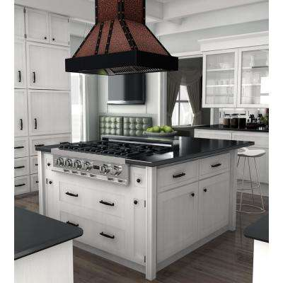 ZLINE 30 in. Island Mount Range Hood in Oil-Rubbed Bronze