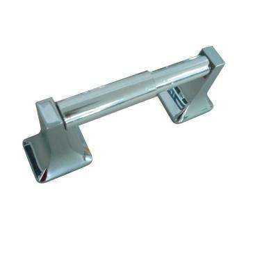 Futura Double Post Toilet Paper Holder in Chrome