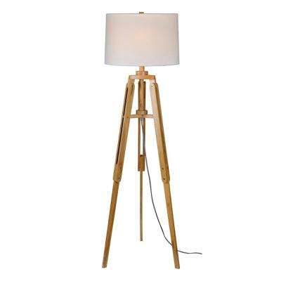Natural Wood Floor Lamp - Wood - Floor Lamps - Lamps & Shades - Lighting & Ceiling Fans