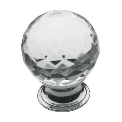 1-9/16 in. Polished Chrome Round Cabinet Knob