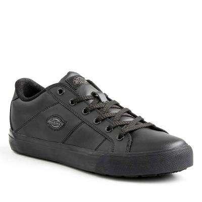 Trucos Men Black Slip Resistant Safety Work Shoe