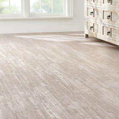 Whitewashed Oak 7.5 in. x 47.6 in. Luxury Vinyl Plank Flooring (24.74 sq. ft. / case)