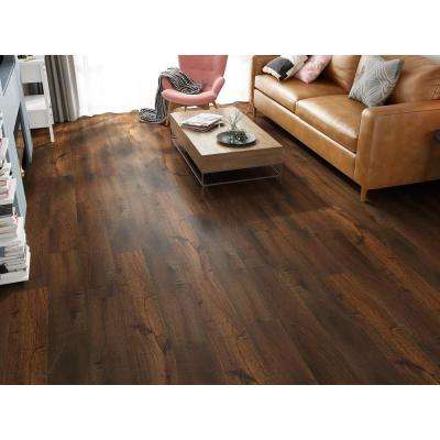 Honey 1/3 in. Thick x 7.68 in. Wide x 47.83 in. Length Laminate Flooring (20.40 sq. ft.)