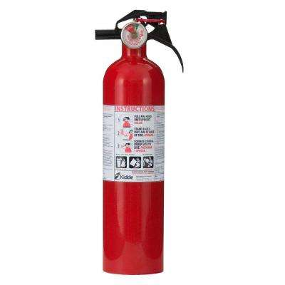 Recreational 1-A:10-B:C Fire Extinguisher