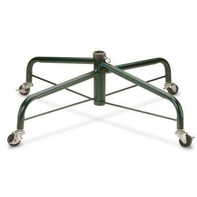 28 in. Folding Tree Stand with Rolling Wheels for 7 1/2 ft. to 8 ft. Trees